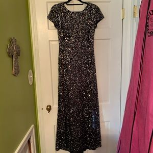 Adrianna Papell sparkle gown